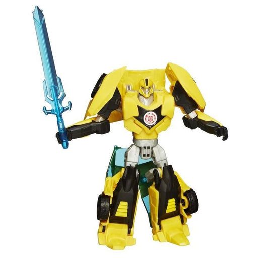 Transformers Bumblebee Robots Indisguise Warrior Class Action Figure