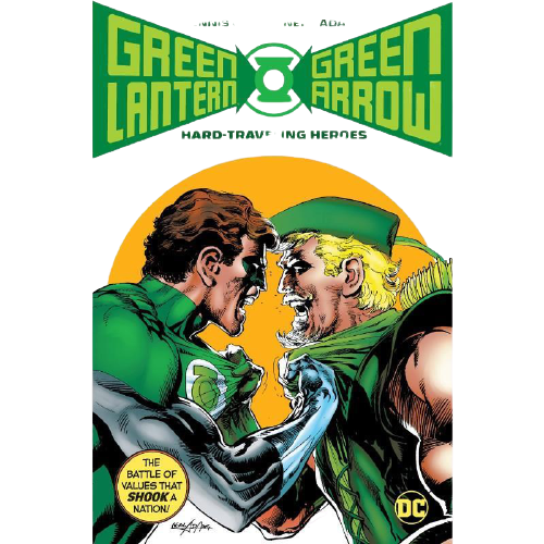 Green Lantern Green Arrow Hard Travelin Heroes Deluxe Edition Hardcover