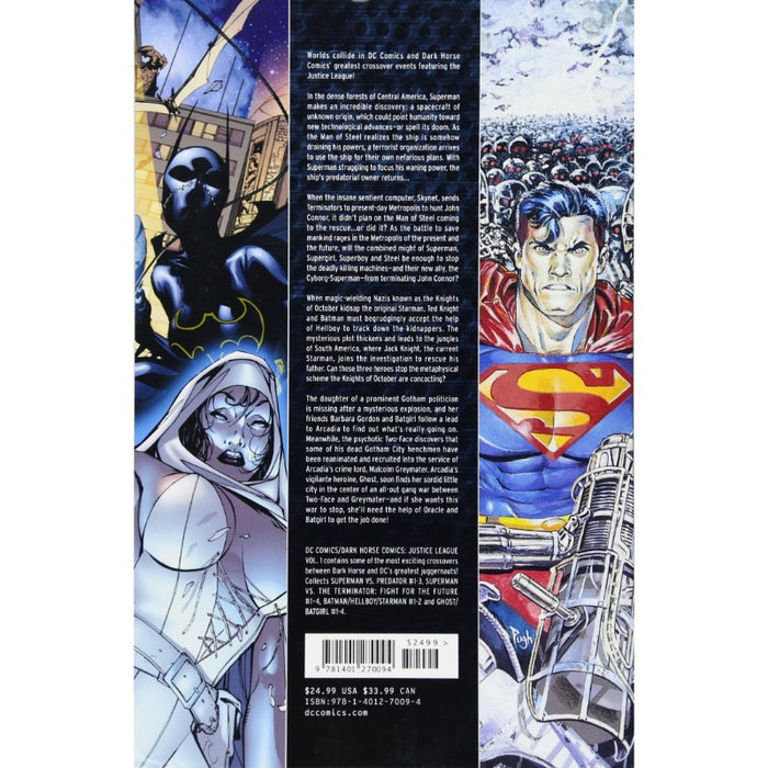 DC Comics/Dark Horse Comics Justice League Vol 1 Paperback