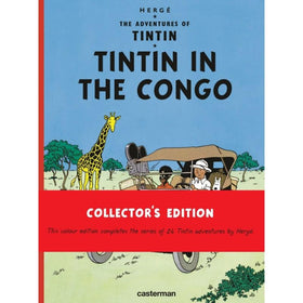 Tintin in the Congo Hardcover