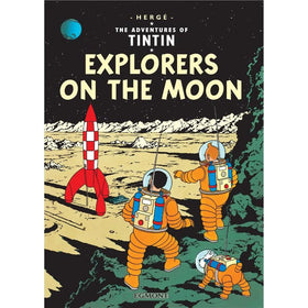 Tintin Explorers on the Moon Hardcover
