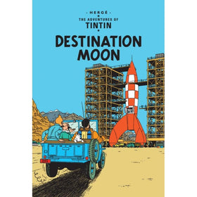 Tintin Destination Moon Hardcover