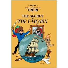 Tintin The Secret of The Unicorn Hardcover