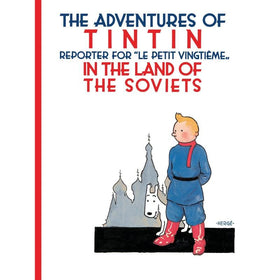 Tintin Land of Soviets  Hardcover