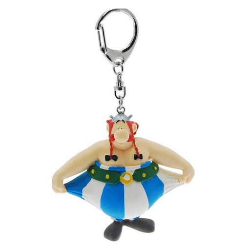 Asterix Obelix Holding His Pants Keyring - www.entertainmentstore.in