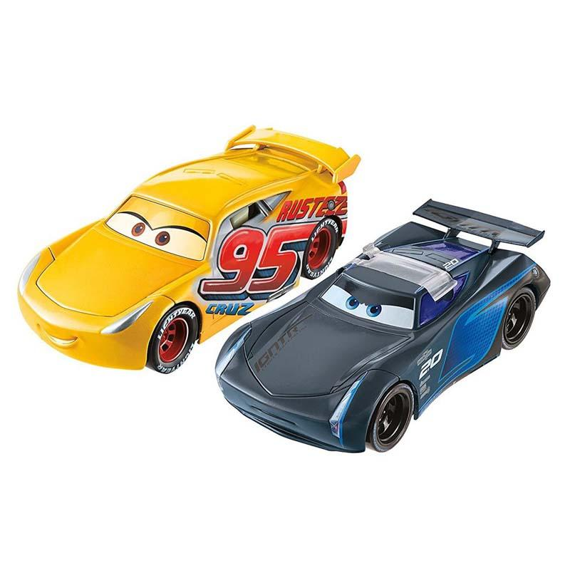 Disney Pixar Cars Rust Eze Cruz Ramirez &  Jackson Storm - www.entertainmentstore.in