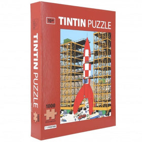 Tintin Ready For Take Off Puzzle Game