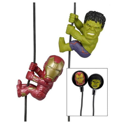 Avengers Aage of Ultron Ironman & Hulk Earbuds