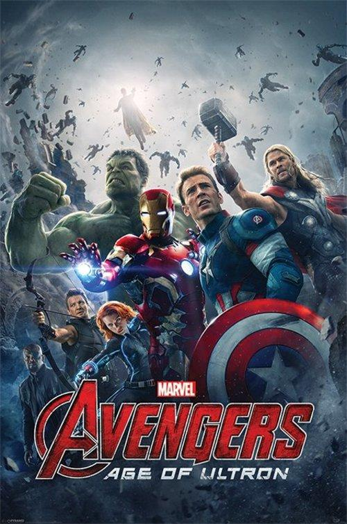 Avengers Age Of Ultron One Sheet Maxi Poster