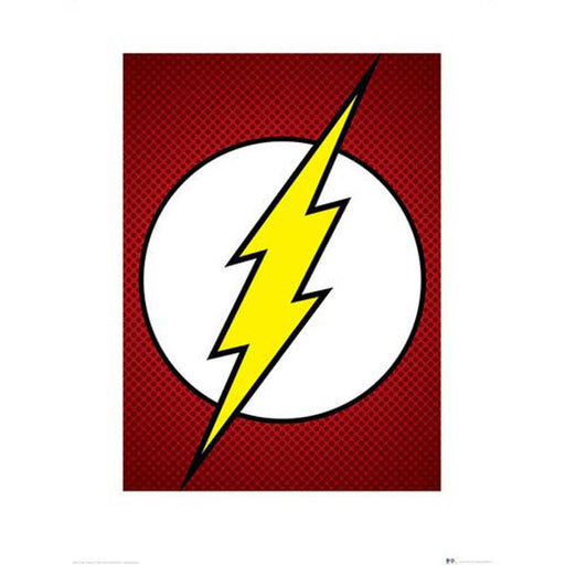 Dc Comics The Flash Art Print