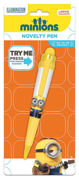 Minions Novelty Pen