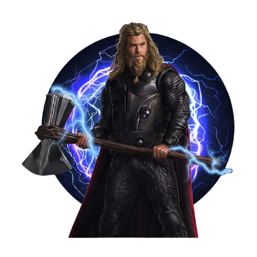 Thor Avengers End Game Fridge Magnet - www.entertainmentstore.in