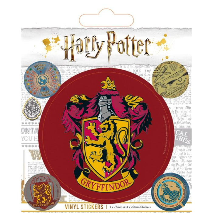 Harry Potter Gryffindor Vinyl Sticker