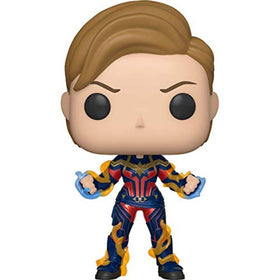 Captain Marvel With New Hair Bobble Head