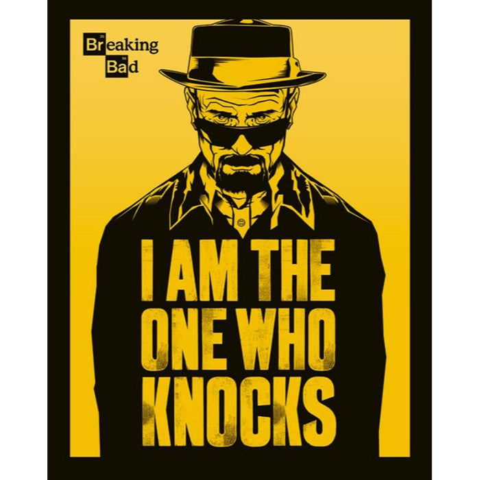 Breaking Bag I Am One Who Knocks Mini Poster