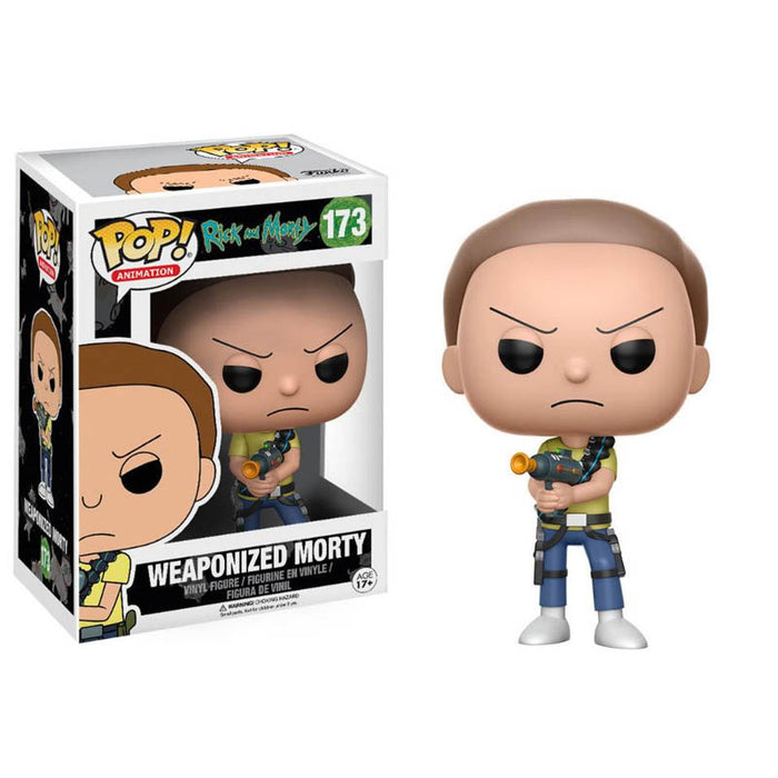 Rick And Morty Weaponized Mort Pop Figure