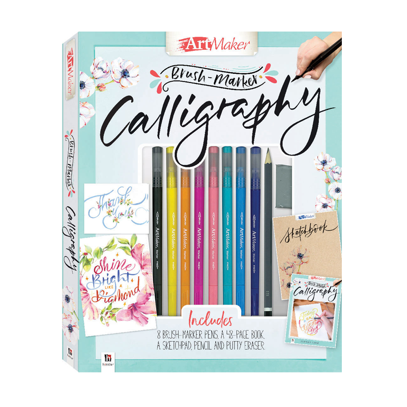 Art Maker Brush Marker Calligraphy Kit