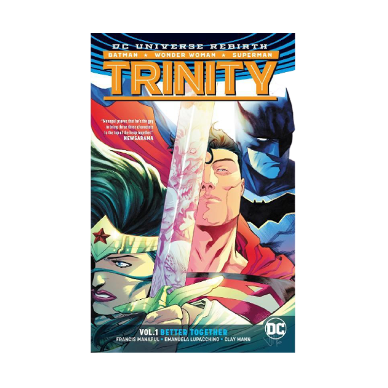 Trinity Vol. 1 Better Together Rebirth Trinity DC Universe Rebirth Paperback