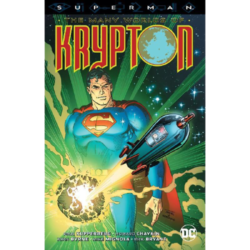 Superman The Many Worlds of Krypton Paperback