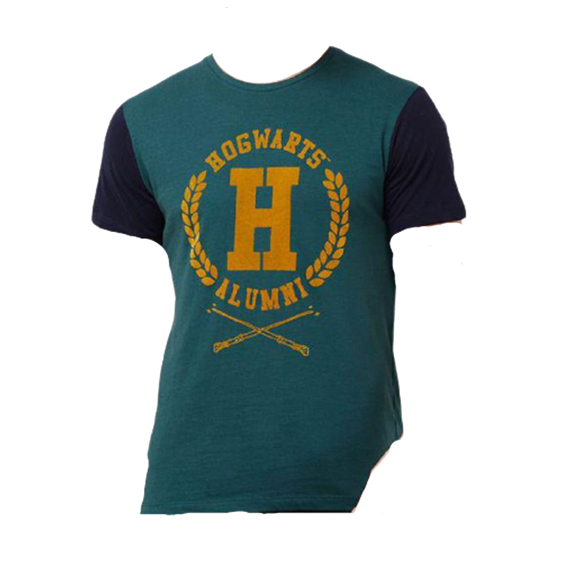 Harry Potter (0009) Green Mens T Shirt - www.entertainmentstore.in