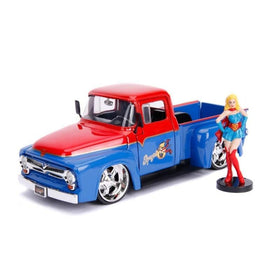 1956 Ford F-100 Pickup With Supegirl Figure