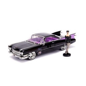 1959 Cadillac Coupe Deville With Catwoman Figure