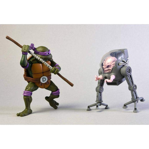Teenage Mutant Ninja Turtles Cartoon Donatello Vs Krang In Bubble Walker Action Figure 2 Pack - www.entertainmentstore.in