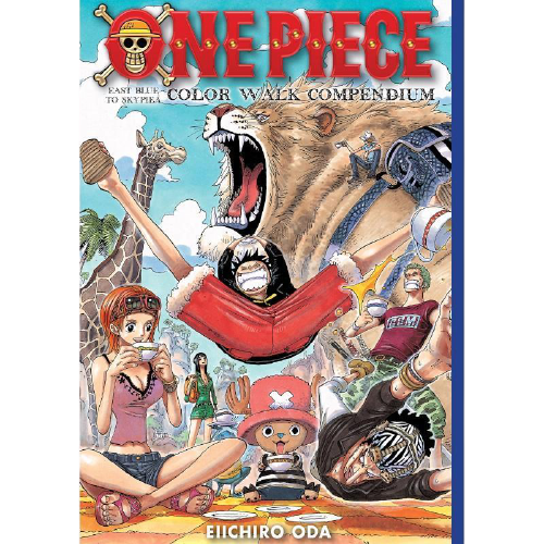 One Piece Color Walk Compendium East Blue to Skypiea Hardcover