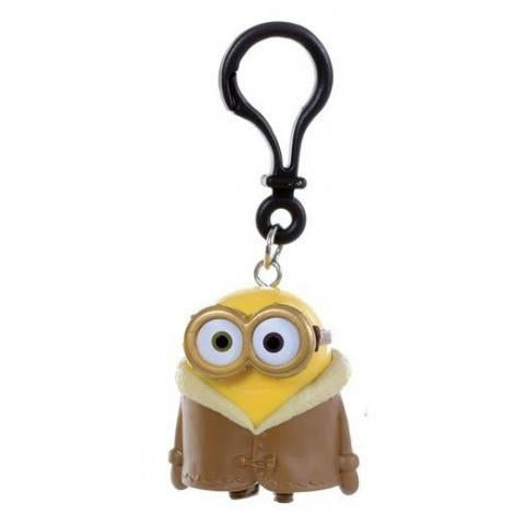 Minions Bob With Brown Coat Keychain