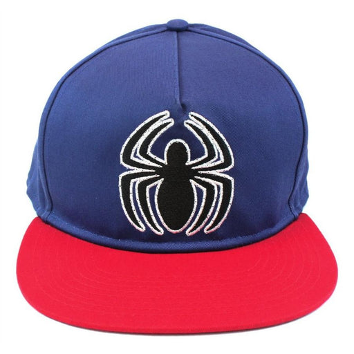 Spiderman Logo Blue Cap