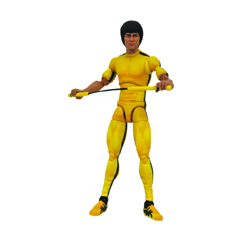 Bruce Lee Select Yellow Jumpsuit Action figures - www.entertainmentstore.in