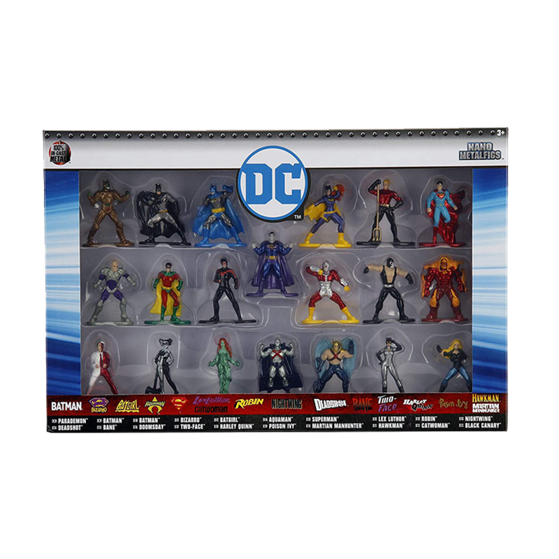 DC Comics Set Of 20 Nano Metal Figures - www.entertainmentstore.in