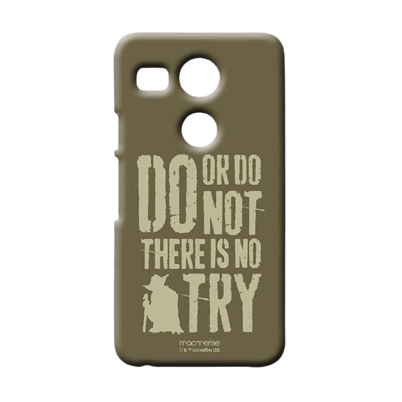 Yoda Theory Sublime Case For LG Nexus 5X - www.entertainmentstore.in