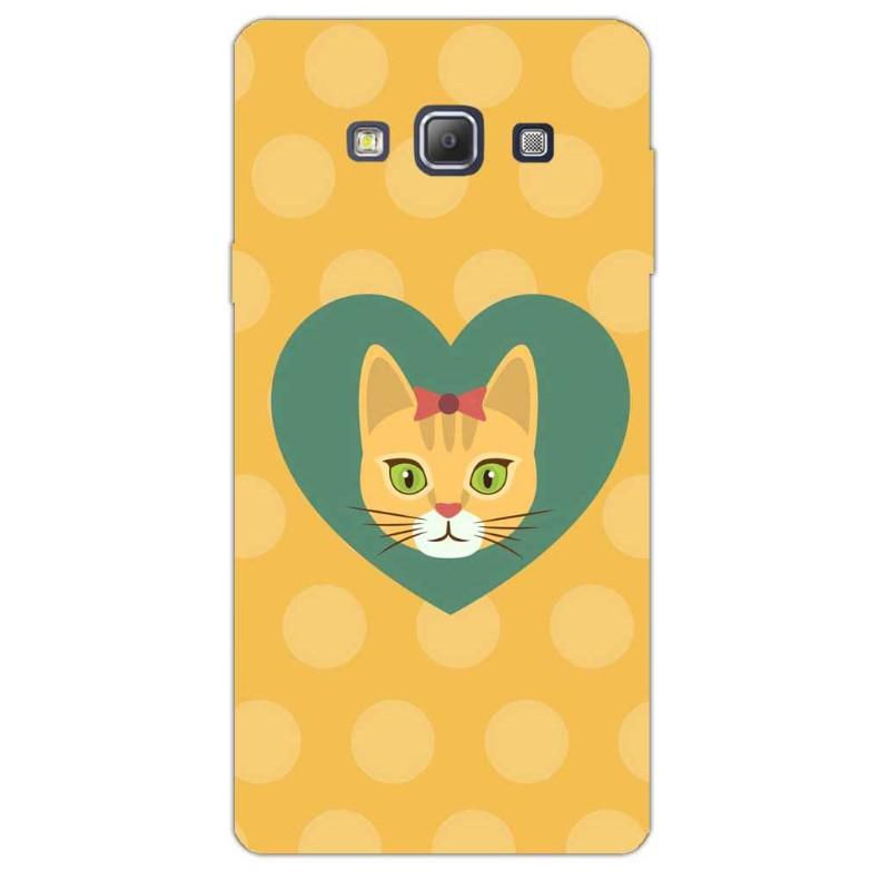 Cat Love Samsung A7 Sublime Case - www.entertainmentstore.in