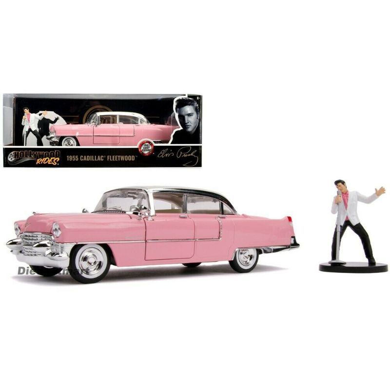 Hollywood Rides 1955 Cadillac Fleetwood Vehicle - www.entertainmentstore.in