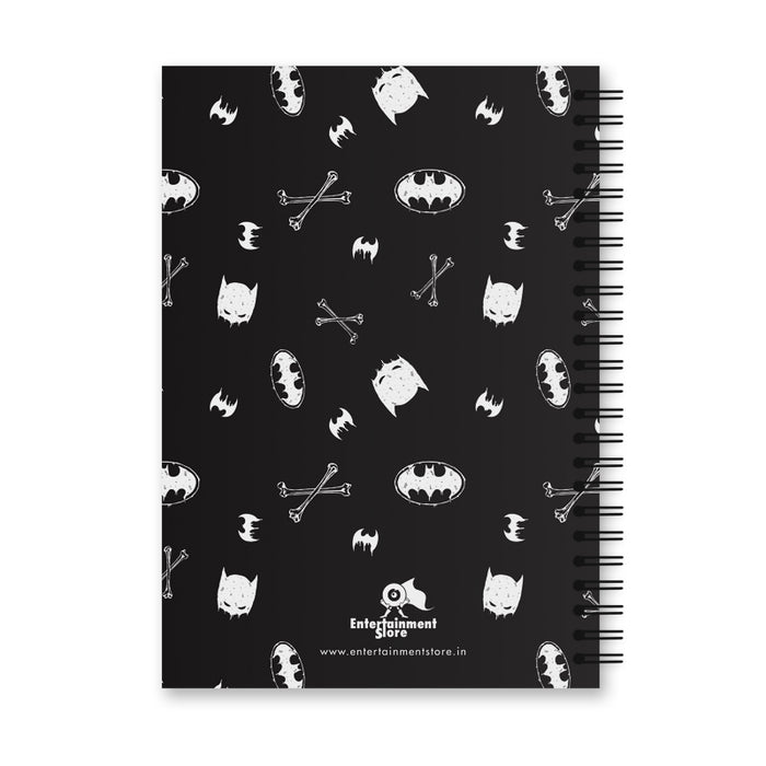 Batman Yellow Logo Notebook