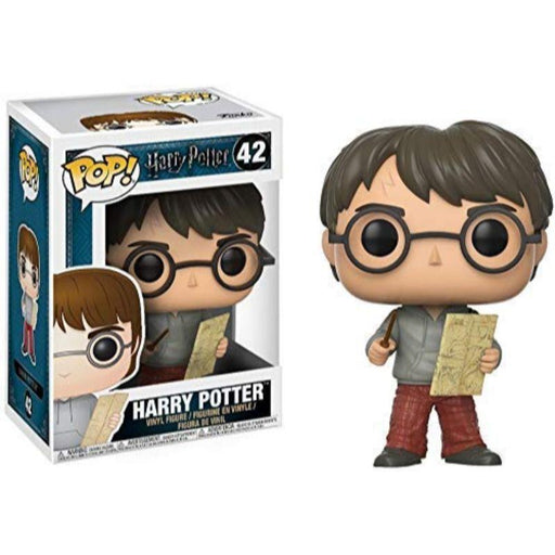 Harry Potter with Marauders Map Pop Figure