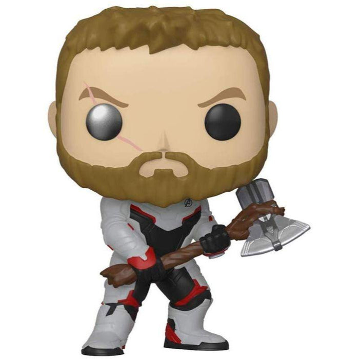 Thor in Team Suit Pop Bobble Head - www.entertainmentstore.in