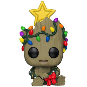 Groot Marvel Holdiay Pop Figure