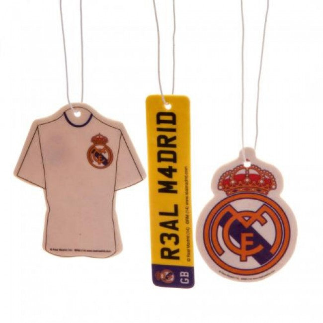 Real Madrid FC Air Freshener 3pack