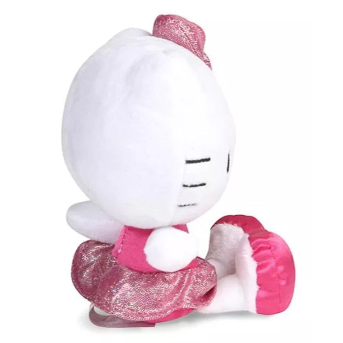 Hello Kitty Plush With Shiny Pink Bow