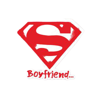 Super Boyfriend Sticker - www.entertainmentstore.in