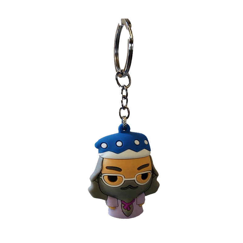 Harry Potter Albus Dumbledore 3D Rubber Keychain - www.entertainmentstore.in