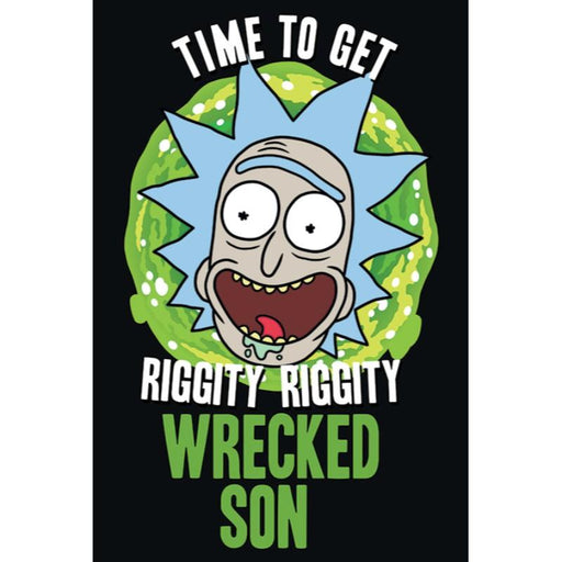 Rick And Morty Wrecked Son Maxi Poster