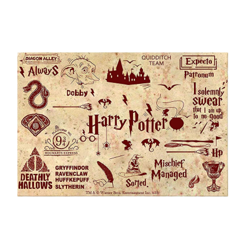 Harry Potter Red Fridge Magnet - www.entertainmentstore.in