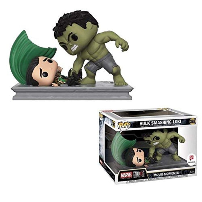 Hulk Smashing Loki Movies Moments Pop Figure