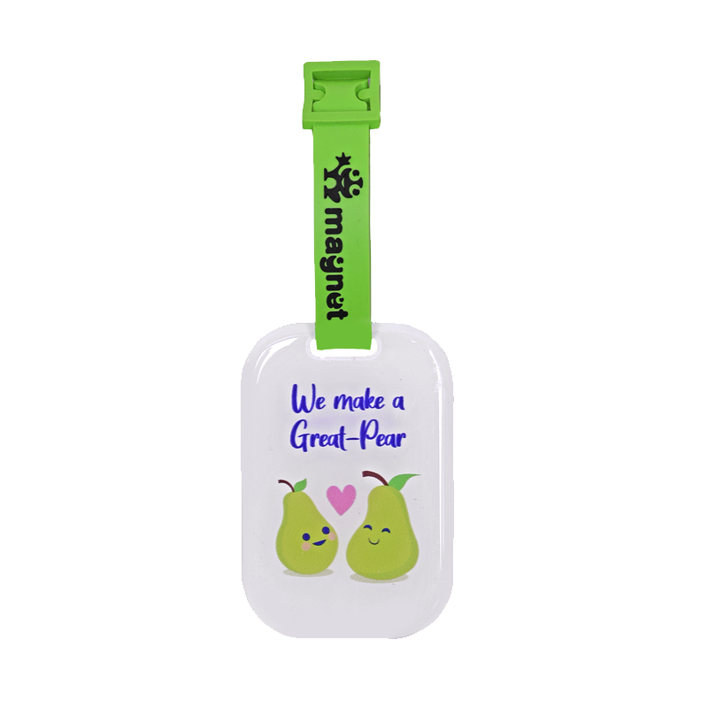 Great Pears Makes A Great Pair Bag Tags - www.entertainmentstore.in
