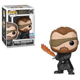 Beric Dondarrion With Flames Sword Game of Thrones Pop Figure