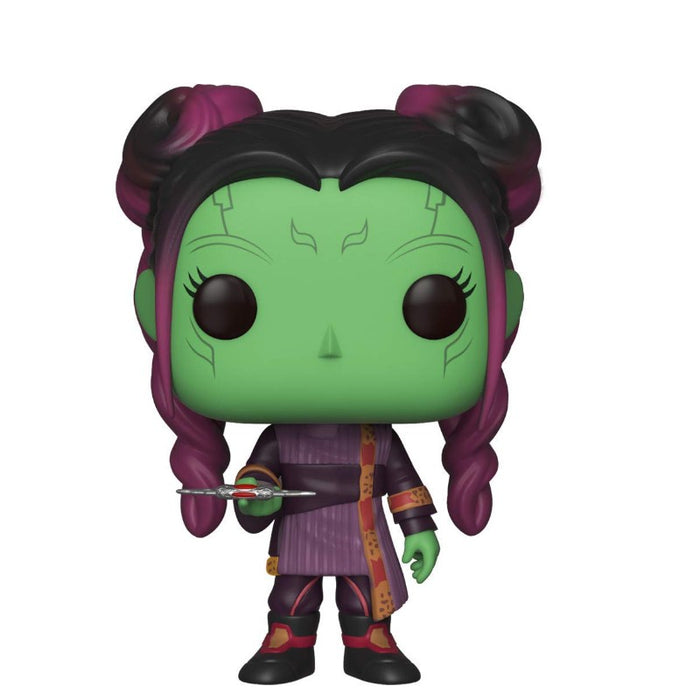 Young Gamora With Dagger Avengers Infinity War Pop Bobble Head - www.entertainmentstore.in