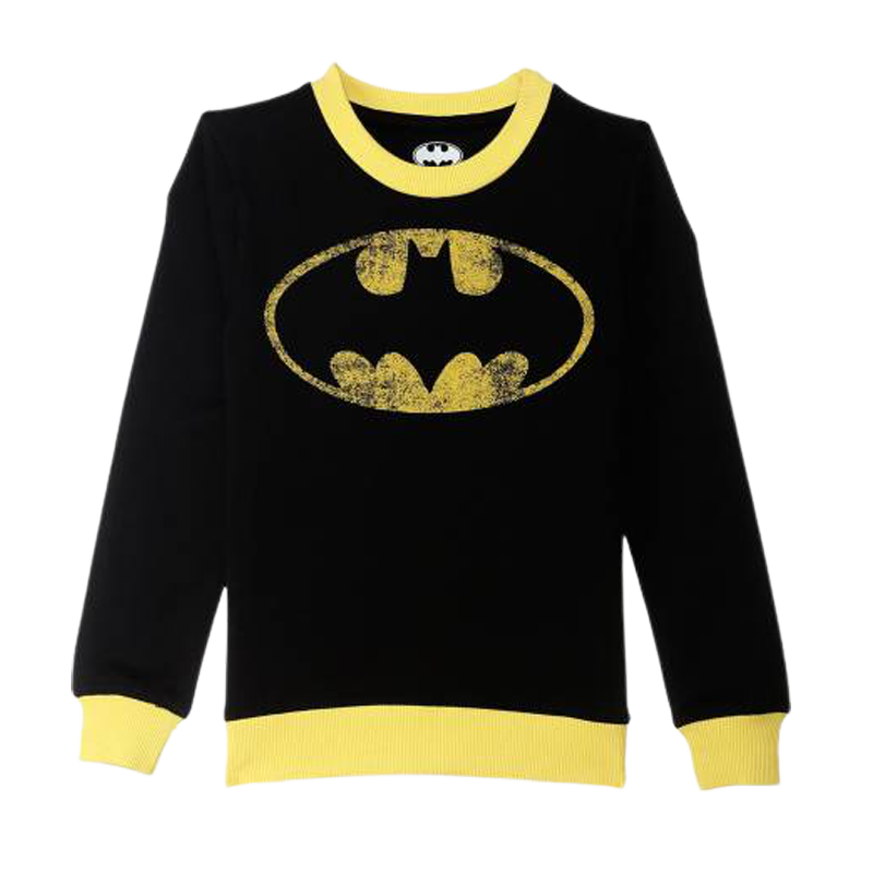 Batman (68) Black Boys Sweatshirt - www.entertainmentstore.in